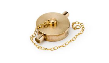 1 1/2 Brass Blanking Cap