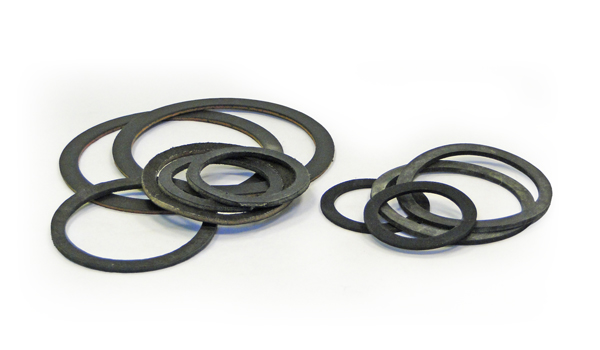LEATHER AND RUBBER WASHERS