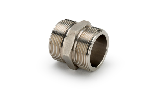 STAINLESS STEEL DOUBLE MALE ADAPTORS